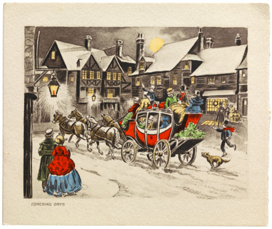 American Christmas Cards, 1900–1960 - Bard Graduate Center