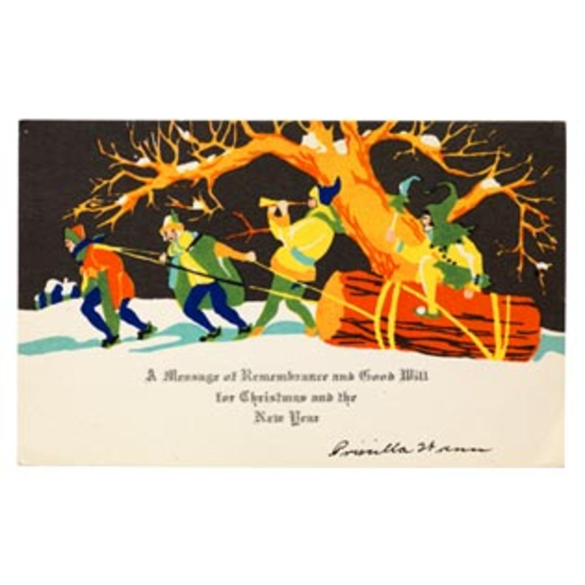 American Christmas Cards 19001960 Bard Graduate Center
